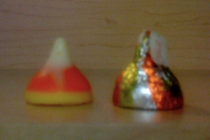 Hershey's Kiss - Candy Corn