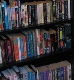 A generic image of my books. Short stories may or may not be present in the photo.